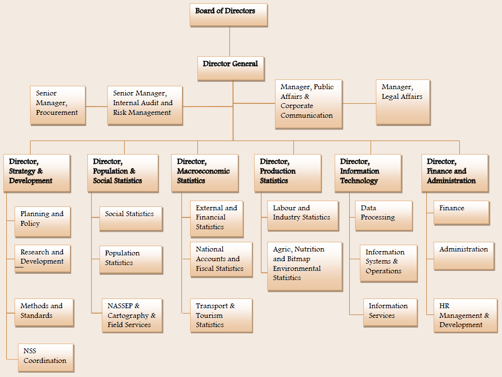 unilever organizational structure chart