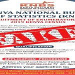 CAUTION AGAINST FAKE KENYA POPULATION AND HOUSING CENSUS 2019 JOB ADVERTISEMENT