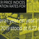Consumer Price Indices and Inflation Rates for July 2019