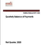 Quarterly Balance of Payments –  First Quarter, 2020