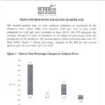 Producer Price Index Second Quarter 2020